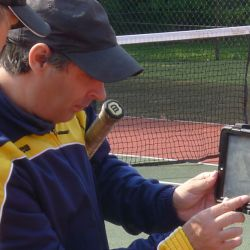 Video analisis en el London Tennis Camp